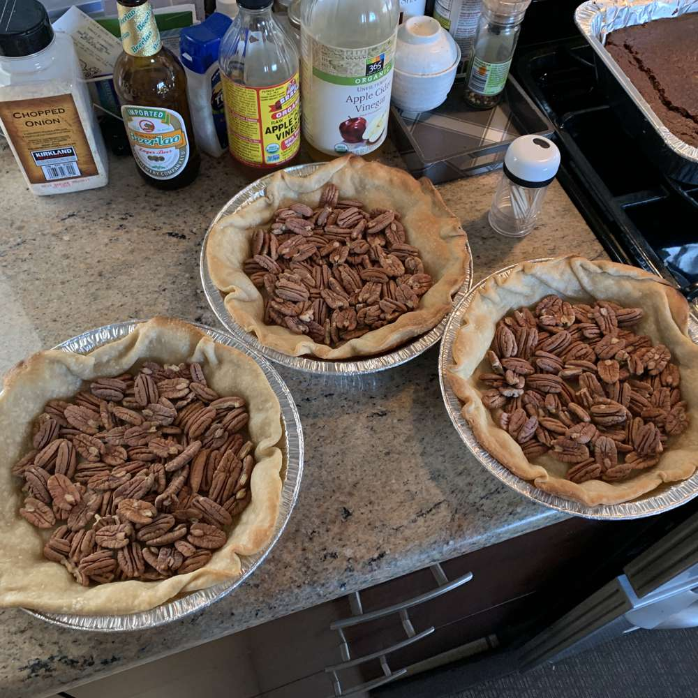 You can get a feel for the amount of pecans